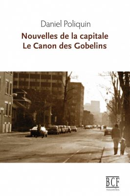 Cover of a French book. The title appears in brown at the top of the page, preceded by the author's name in black. The cover includes a sepia photograph of a street in a large city, with very little traffic. On the sidewalk, to the right, a mother is walking, holding her child's hand.